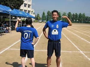 青Tシャツ