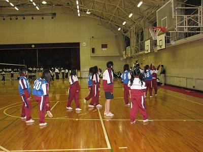 3年女子 バスケットボール